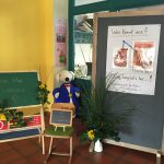 Erster Schultag - Tafel